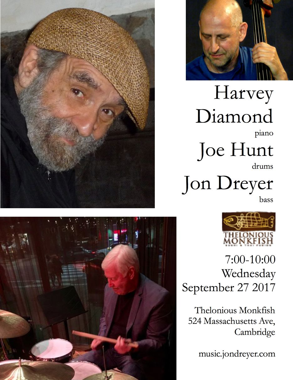 Harvey Diamond Trio poster
